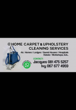 @Home Carpet & upholstery cleaning services