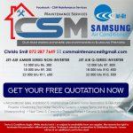 CSM Maintenance Services