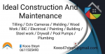 Ideal construction and maintenance