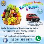 Rainbow Fruits & Veggies