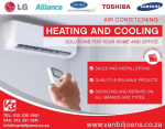 Van Biljoens Appliance Services & Air Conditioning