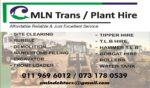 CMLN Transport – Plant Hire