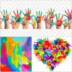 Palette & Paintbrush – Child Art