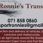 Ronnies-Transport