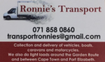 Ronnie's Transport